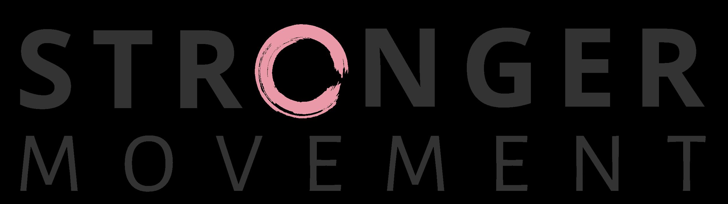 Stronger Movement Main Logo